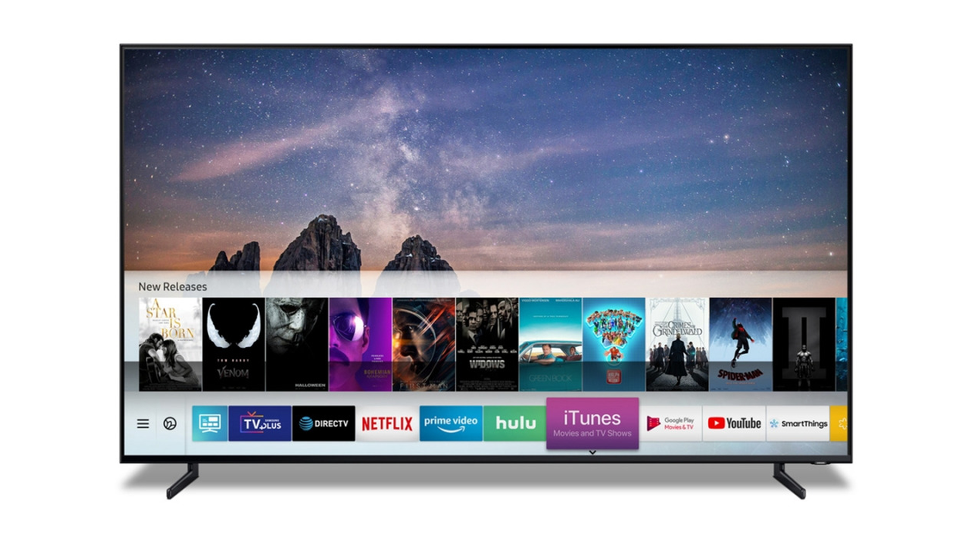 Samsung TV's Featuring iTunes To Launch In Canada This