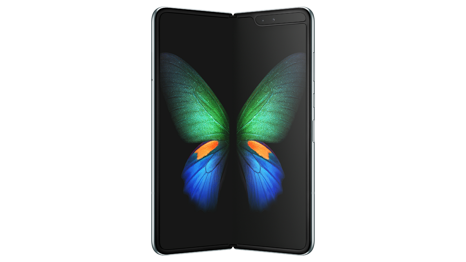 THE GALAXY FOLD IS SAMSUNGS NEW FOLDING PHONE AND IT LOOKS GREAT