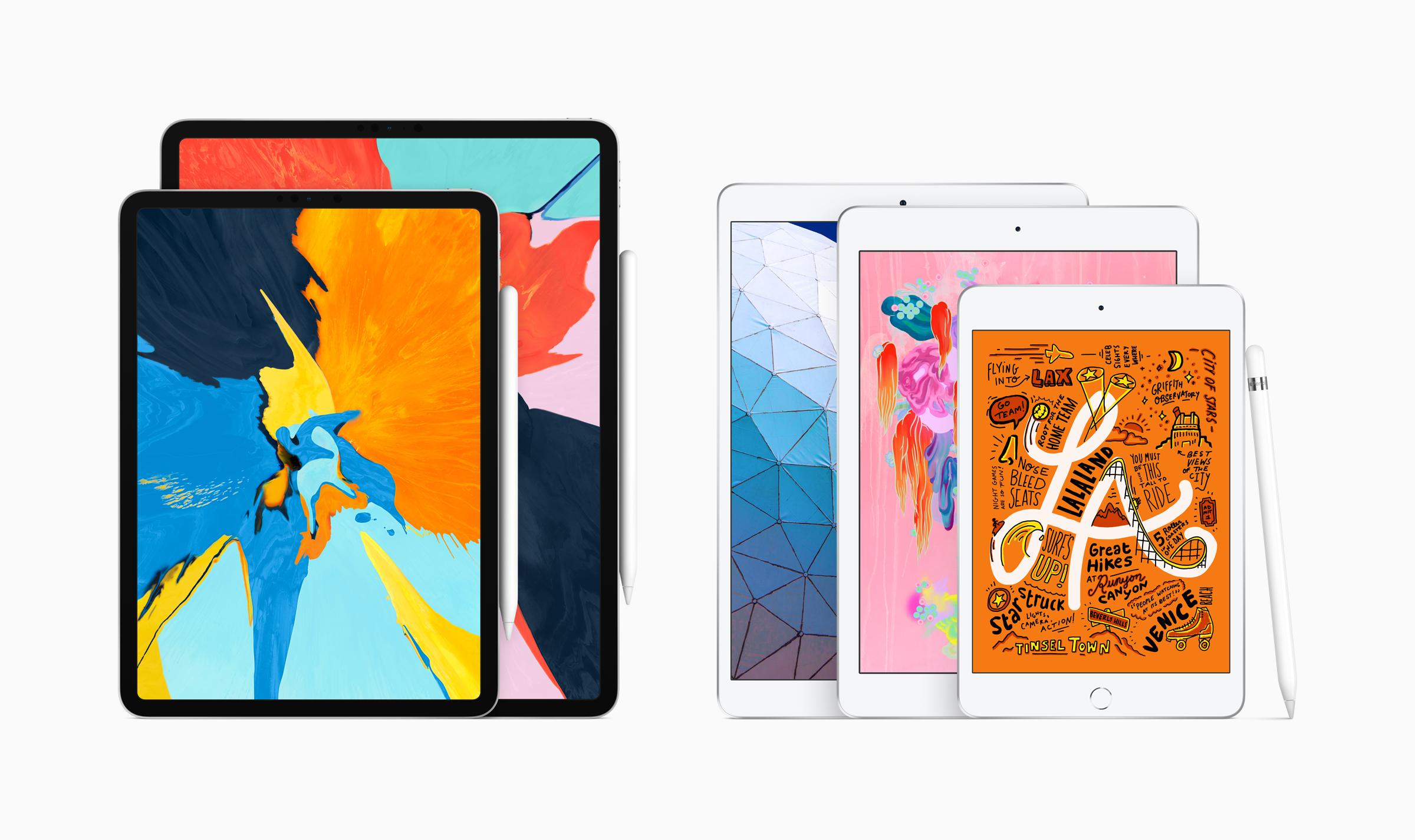 2019 iPad Family