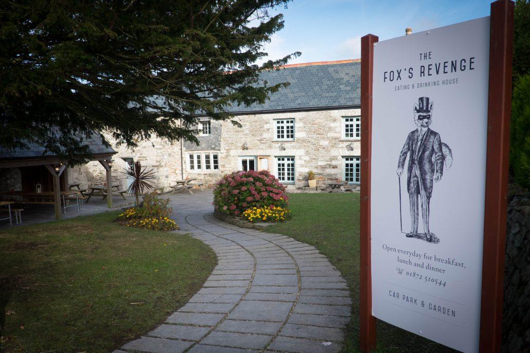 The Fox's Revenge - Carvynick Farm, Summercourt, Cornwall,