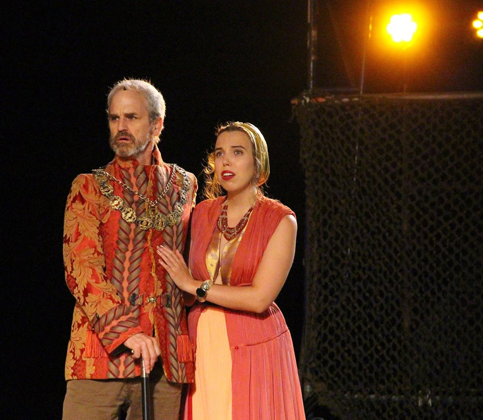 "Romeo & Juliet - ""Lady Montague was played very well by Hartt School grad Margaret Anne Murphy."" —Nancy Sasso Janis for the Naugatuck Patch (read the full review HERE)"