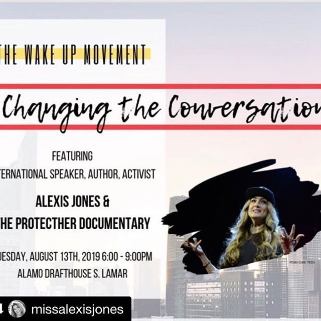 #Repost @missalexisjones ・・・ School is back in session and there isn't a more important topic!! Excited for @drafthouse and @wakeupwithkatie to be screening our @protecther documentary tonight with a post film Q&A!! Join @bradleybbuckman @sarahirshbordo and me tonight for a shot of inspiration! A portion of each ticket sale will be donated to @iamthatgirl:) More info in my bio ❤️ _________ Come join us! Get inspired and be a part of this conversation!! 🙌🏼🙌🏼🙌🏼