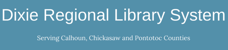 2019_Dixie Regional Library System Logo Banner Style.png
