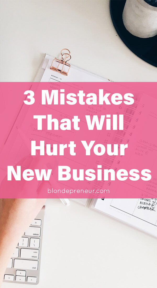 3 huge mistakes entrepreneurs don't realize they are making that you don't have to make and how to fix them. Including tips for branding, website design, and more