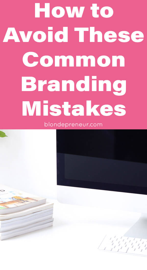 Common business branding mistakes and how to avoid them. Learn the tips you should be doing when designing your brand identity for your blog or online business