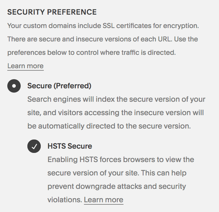 Secure your website with SSL certificate and HSTS secure