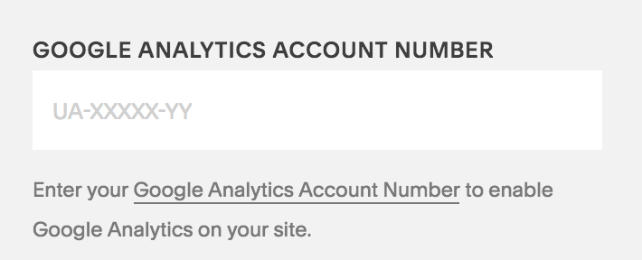 Connect your Google Analytics to your Squarespace website