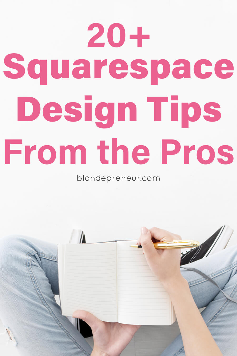 Get web design tricks from Squarespace pros! Learn 20+ unique ways you can easily customize your Squarespace website to look exactly the way you want. These hacks can either be done with what is available to you in your template or by adding simple HTML or CSS code. Design the on brand website of your dreams with Squarespace! #webdesign #designtips #designhacks #squarespace