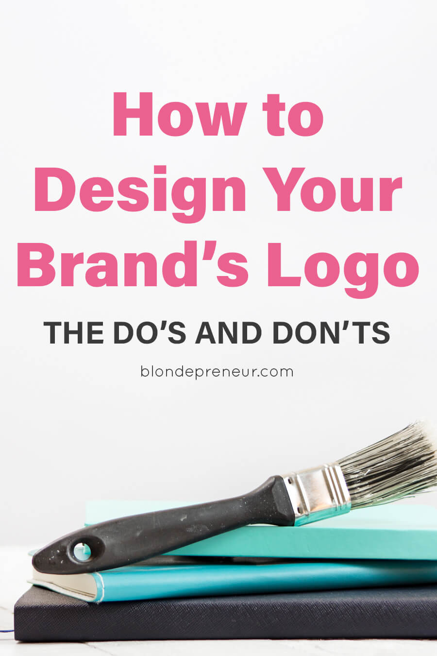 How to design your brand's logo. Learn from the do's and don'ts of logo design so you can DIY your logo and make it look professional without breaking the bank. #logo #logodesign #designtips #brandlogo