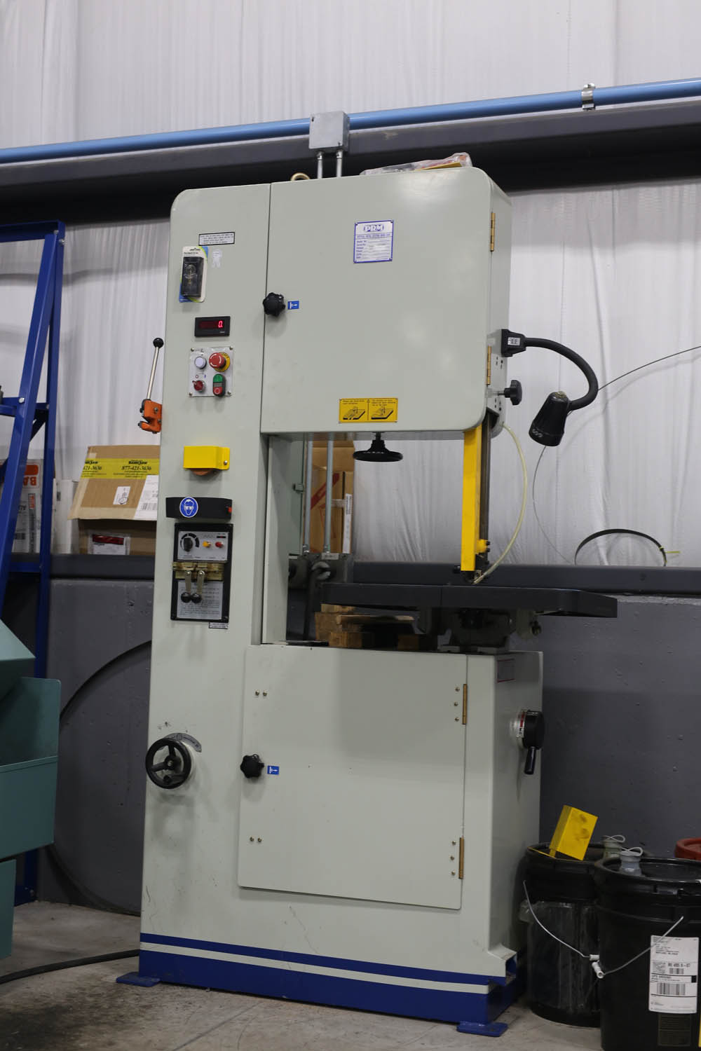 PRM vertical band saw
