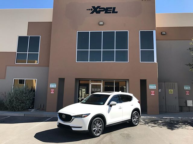 Las Vegas heat won't get to this @Mazda #CX5 now that we installed @XPEL XR PLUS Window Film