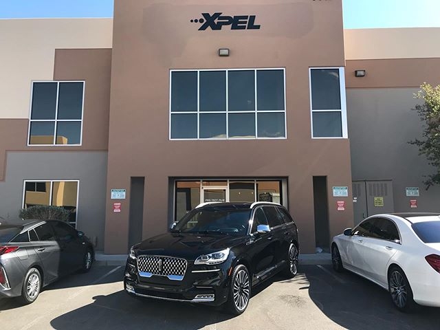 2020 @lincoln #Aviator in for full @XPEL #ULTIMATEPLUS Paint Protection Film