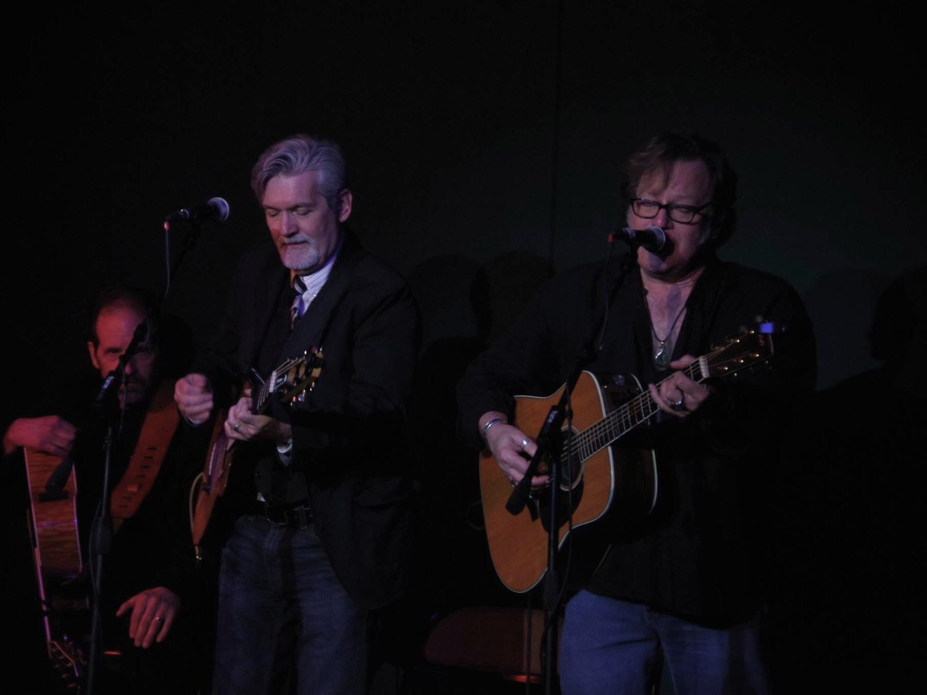 "Todd Hobin & Doug Moncreif playing at ""The Hook"" show  Photo Credit:  iHeartOswego"