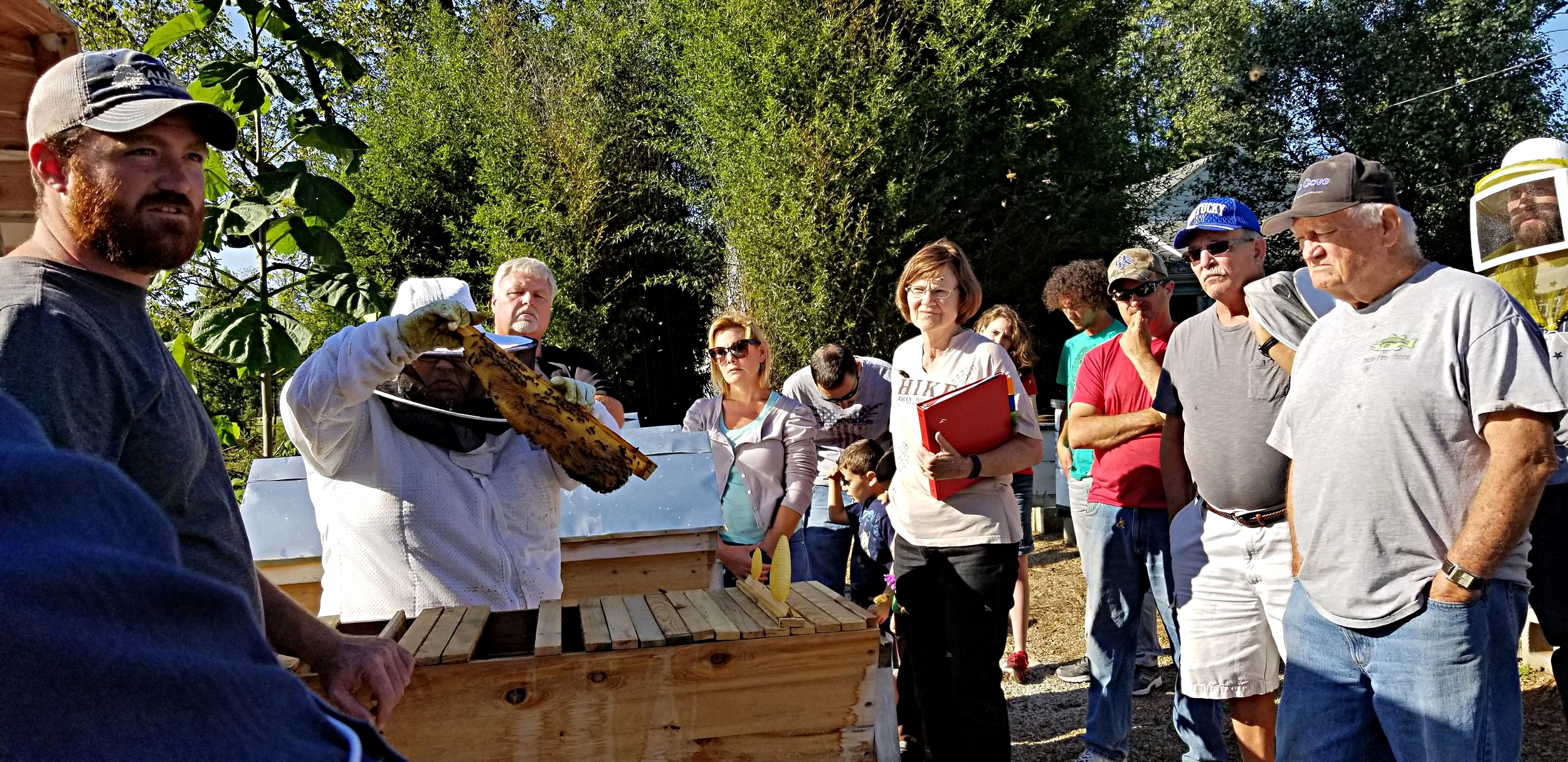 Come meet us! - We have a wonderful group of both new and experienced beekeepers! Events are open and free to the public. Membership brings added benefits.
