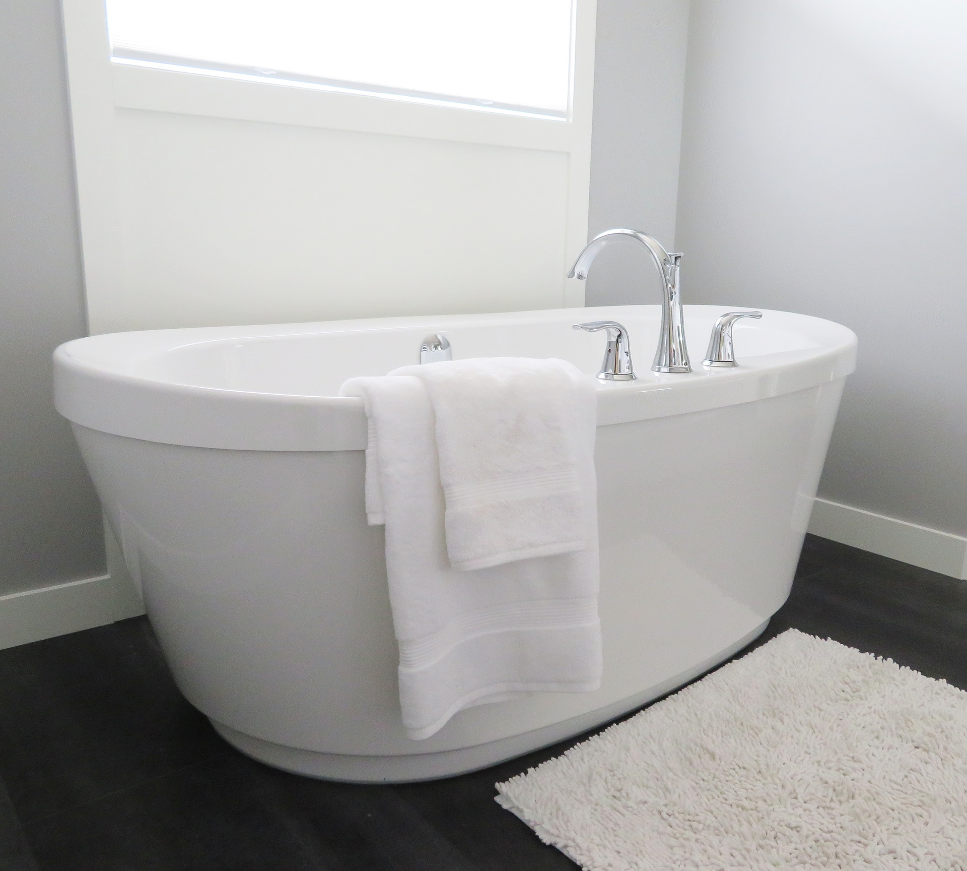 Stand alone tubs are very popular right now. Before you install one, consider your current and future situation. These are very deep tubs. Do you have any mobility issues (or could you develop any soon) that could prevent you from getting into the tub easily?