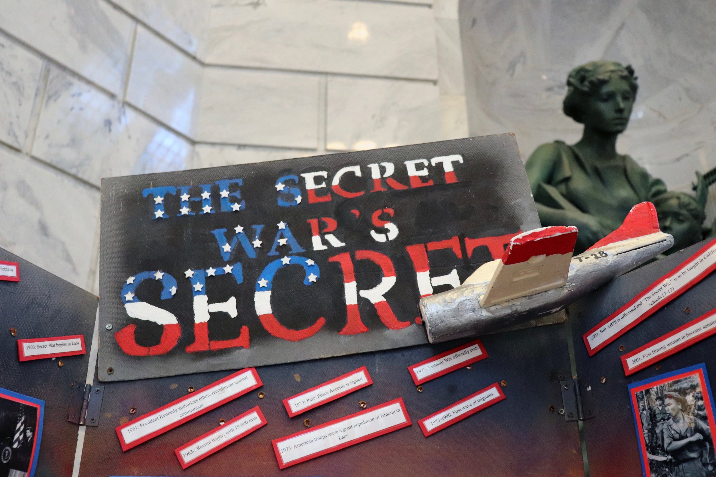"""A project centered on the Laotian conflict, now referred to as """"The Secret War."""""""