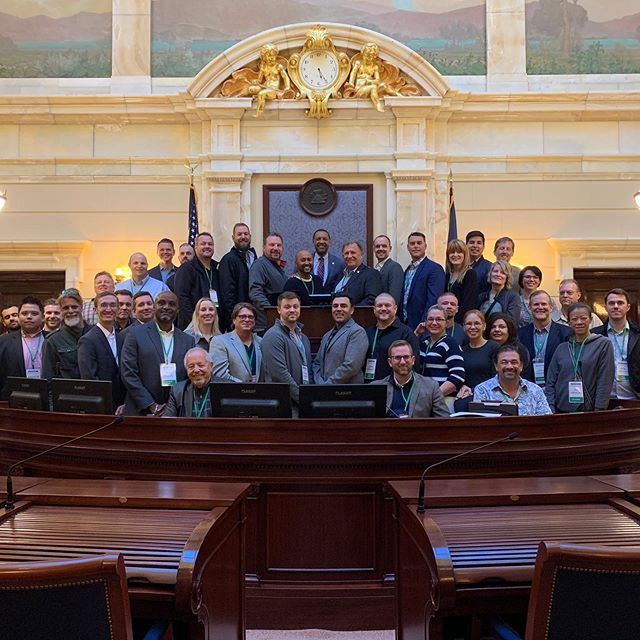 Sen. Curt Bramble had the opportunity to show the Kratom Mini-Summit around the state Utah State Capitol. He passed SB 58, Kratom Consumer Protection Act, this year to make sure the product is tested and certified before reaching consumers.  #utpol #utleg