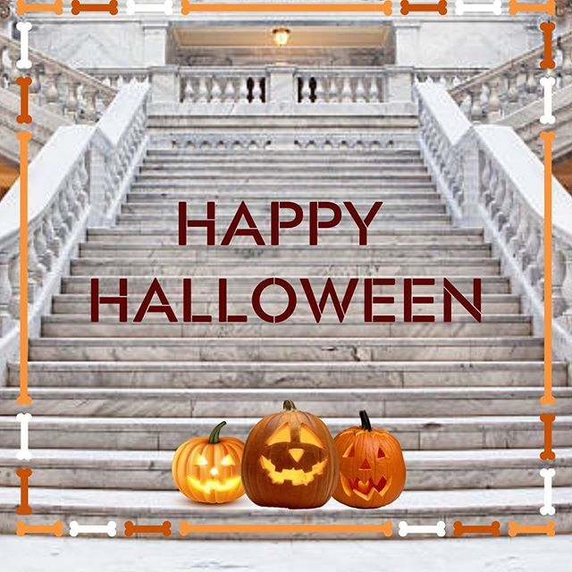 Happy Halloween! Be sure to stay warm, stay safe and have a scary good time today! #utpol #HappyHalloween #trickortreat