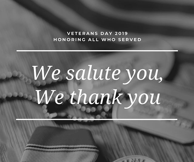 Land of the free because of the brave.  We honor and thank the brave men and women who have served and currently serving our great nation. #utpol #VeteransDay