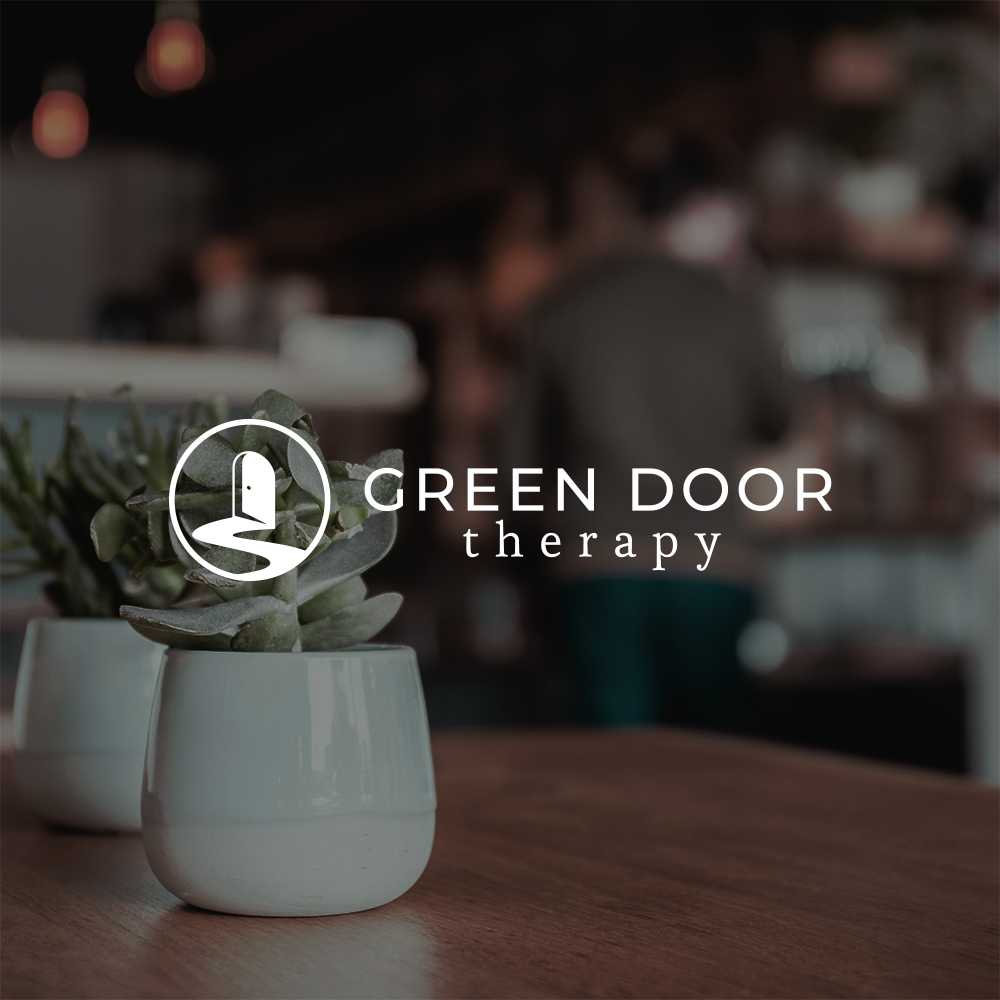 Brand Identity Design for Green Door Therapy