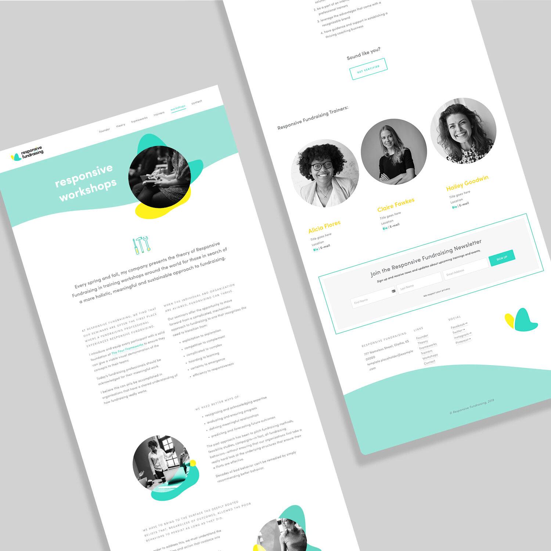 Responsive Fundraising Web Mockup Diagonal.jpg
