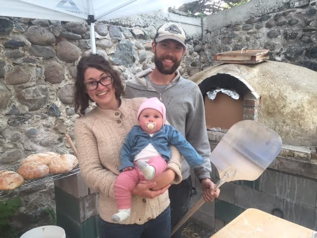 Our first bread oven