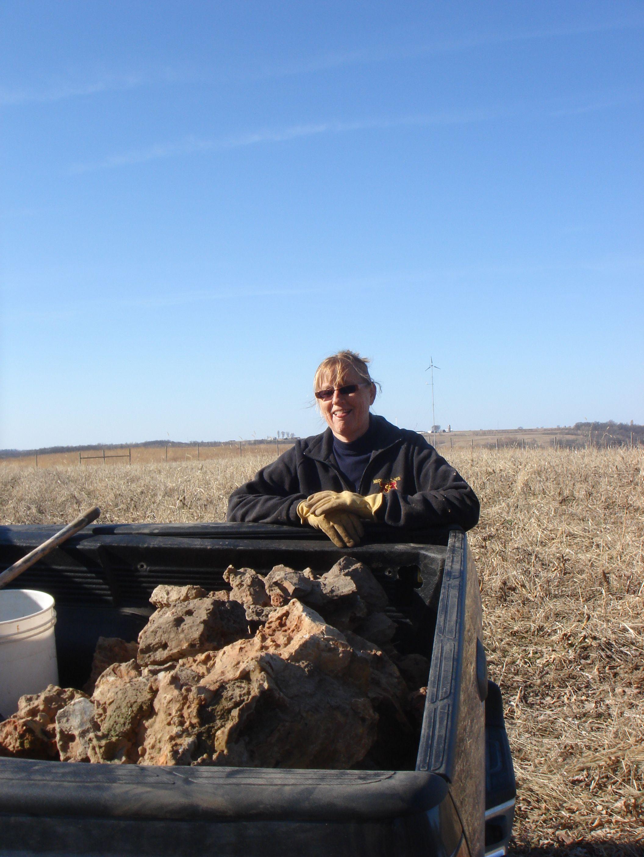 JF Picking rocks 2009.jpg