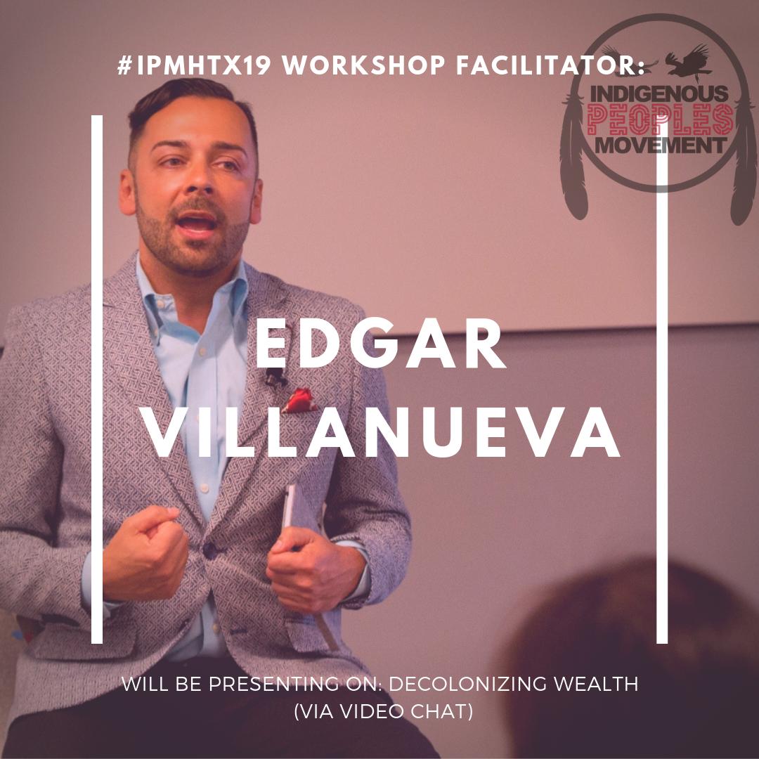 Edgar Villanueva   www.decolonizingwealth.com/