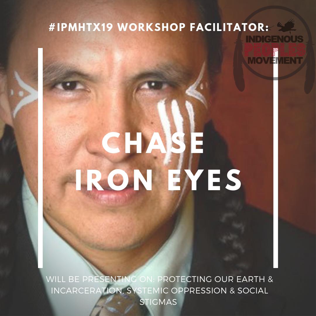 Chase Iron Eyes  Lakota   lastrealindians.com