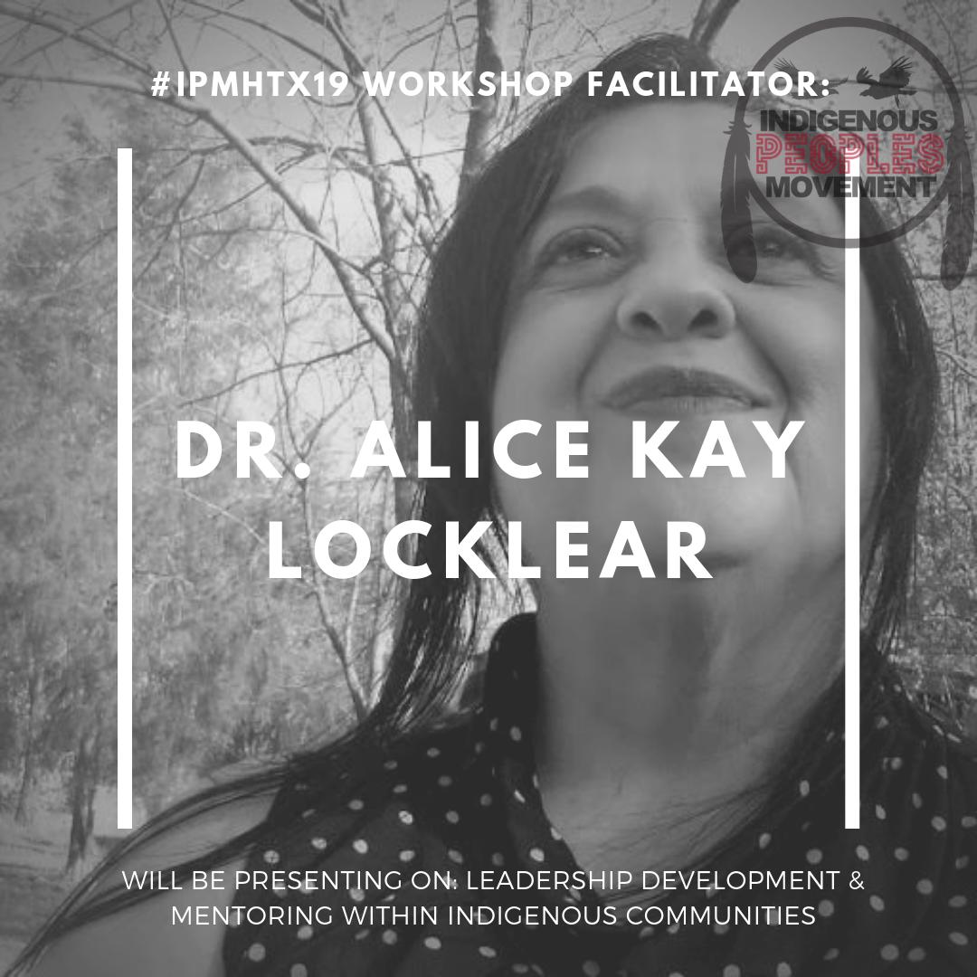 Dr. Alice Kay Locklear  Cherokee of Robeson   uncp.edu/departments/social-work