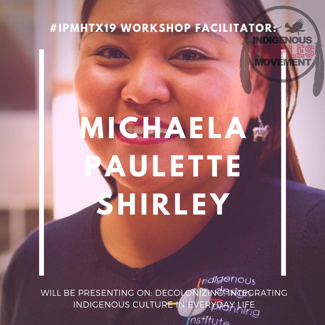 Michaela Paulette Shirley  Diné   unm.edu