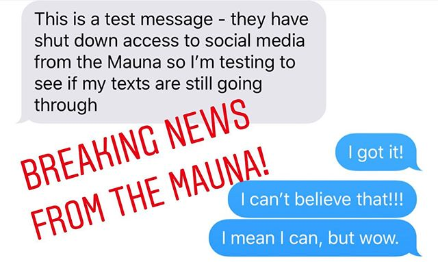 4:07 pm EST all social media was halted on #maunakea. • Please stand by for a statement and updates. • #maunakea #indigenouspeoplesmovement #hawaii #indigenous #native #stoptmt #notmt
