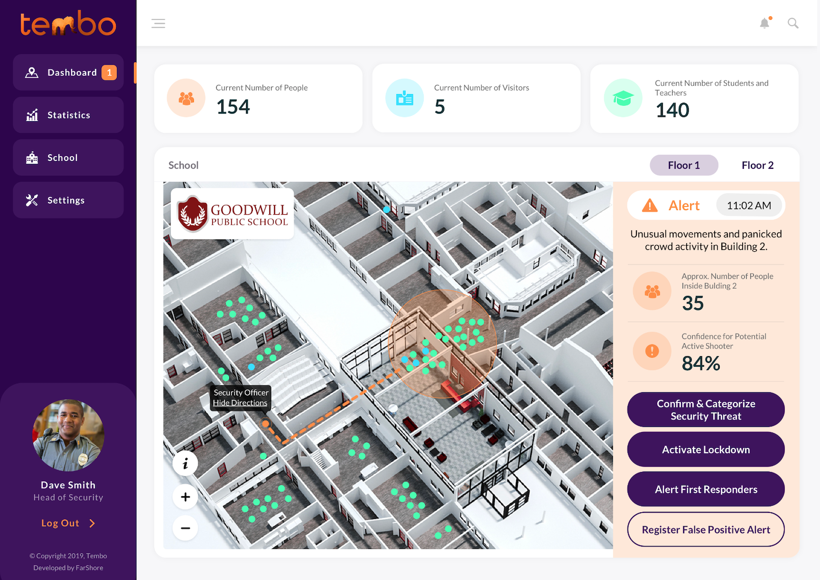 The Tembo Platform for high schools