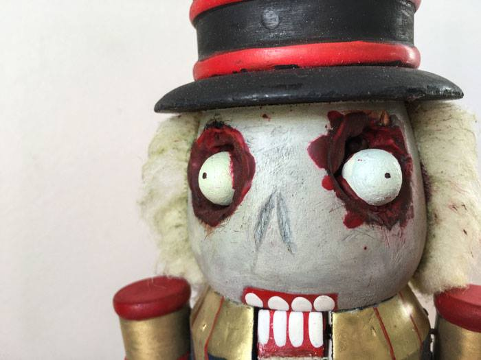 Zombie Nutcracker courtesy of Lucy Fairweather of Fair Ivy and Supriseaholic.