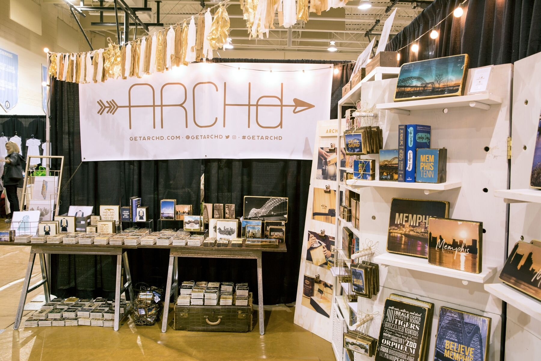 Tip #1 Brand your booth -