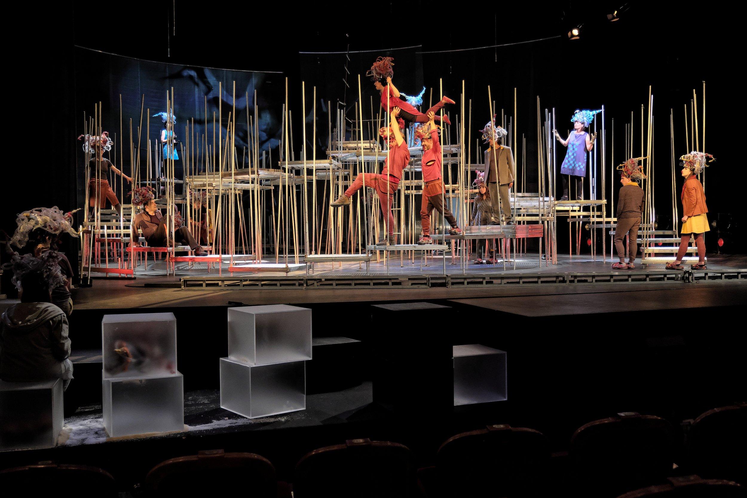 The Divine Comedy - Inferno (2017) - João Brites   Teatro O Bando   Teatro Nacional D. Maria II