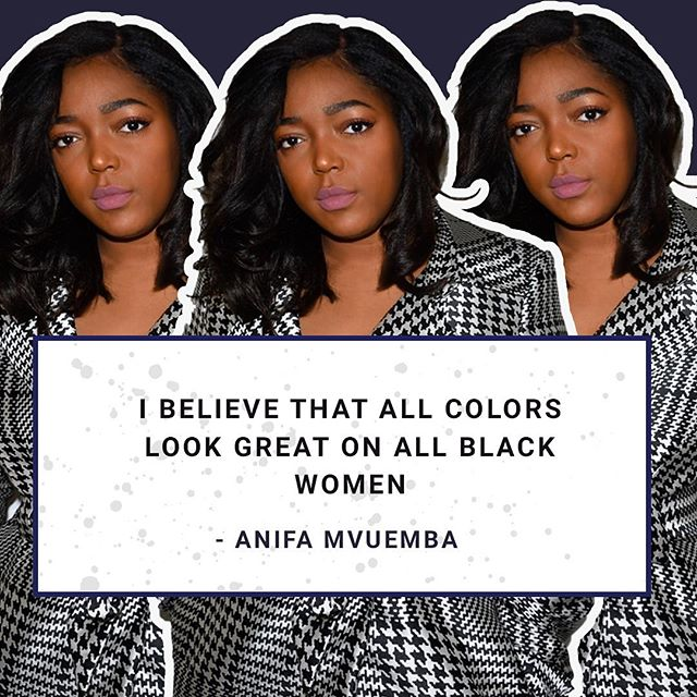 EXCLUSIVE! Hanifa @hanifaofficial Designer Anifa Mvuemba Anifa @anifam talks summer style with us! Forget everything you thought you knew about wearing bright and bold colors and learn how to make a statement of your own! ✍🏾@glayneberry  Link in bio🔫⚡️🌈