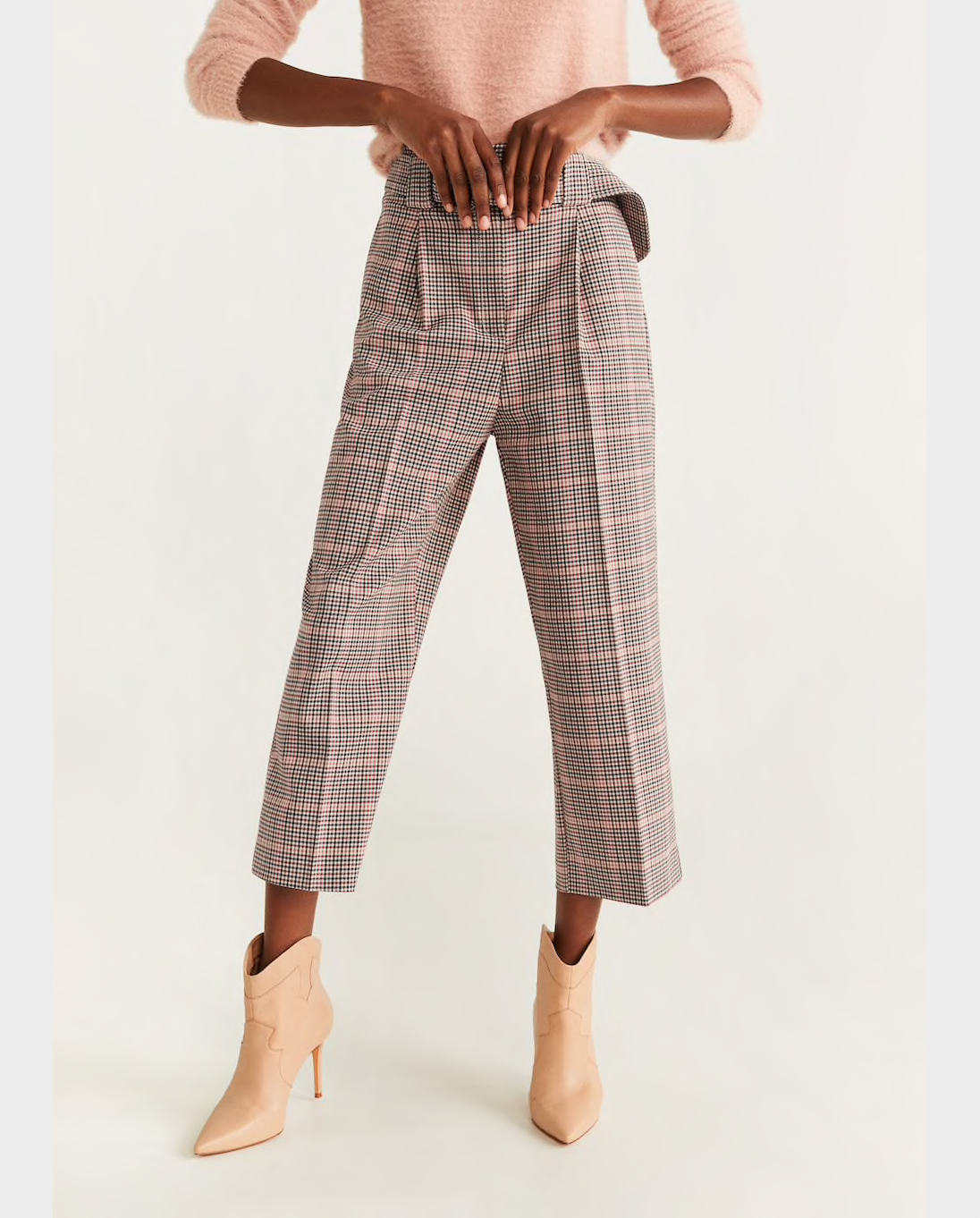 Mango Houndstooth Pants.png