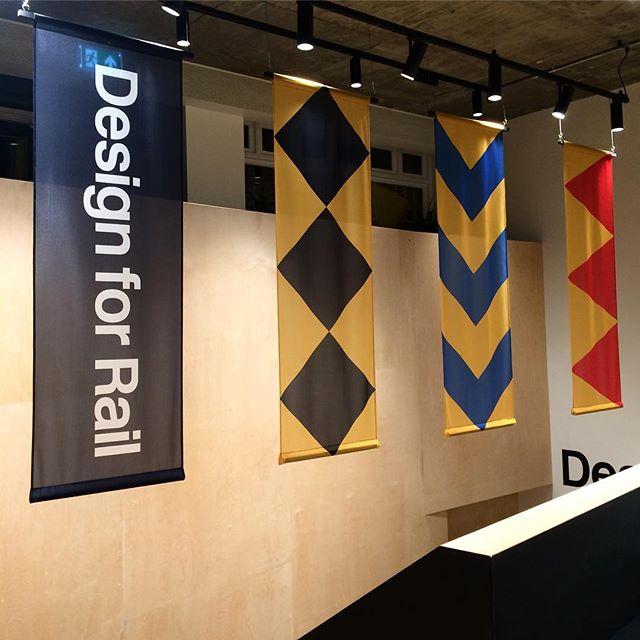 Design for Rail #designforrail #railfreight #dandad #exhibition