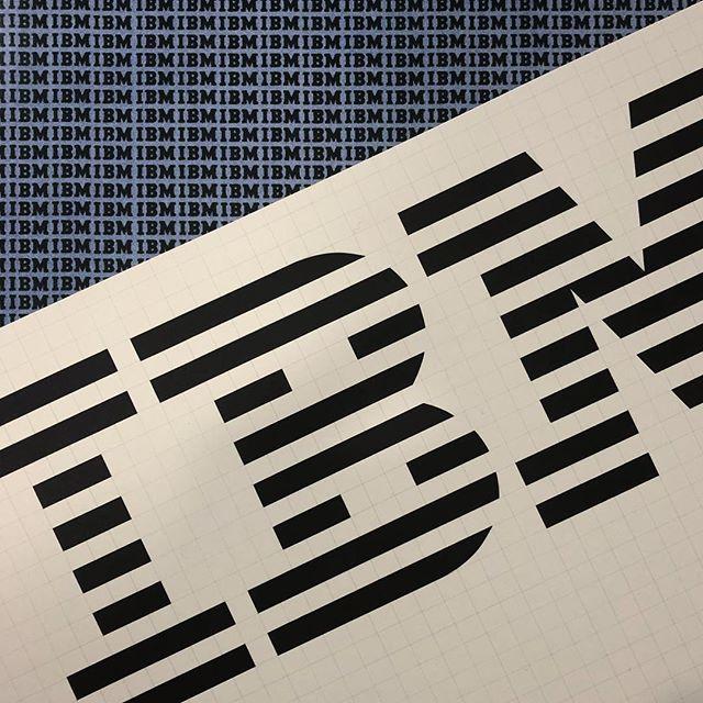 IBM Design Guide #ibm #paulrand #designmanual #corporateidentity