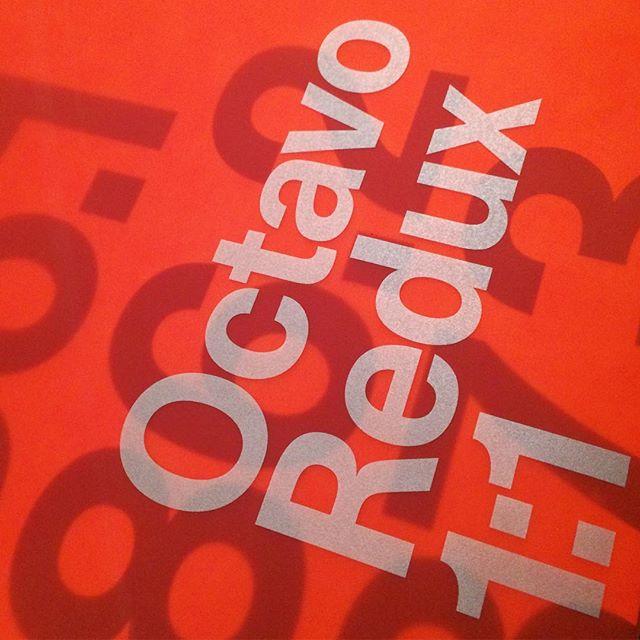 Octavo Redux 1:1 #octavo #8vo #octavoredux #uniteditions #designbooks