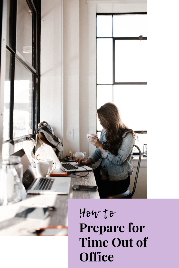 how to prepare for time out of office | vacation from work | work vacation tips | prep for time out of office | ooo tips | work tips | work-life balance | s'more happiness