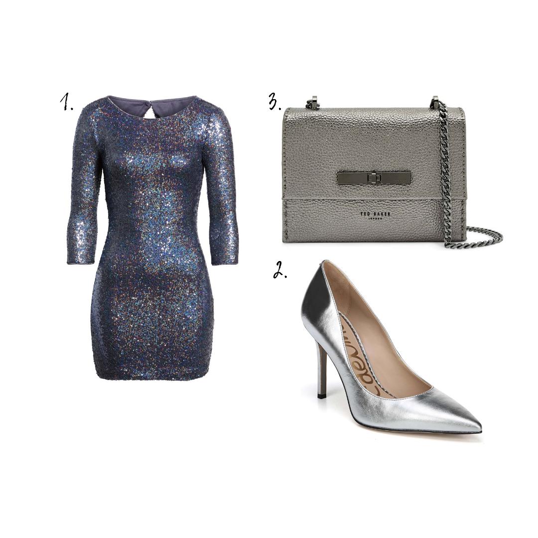Outfit Details - 1. Dress2. Pumps3. Bag