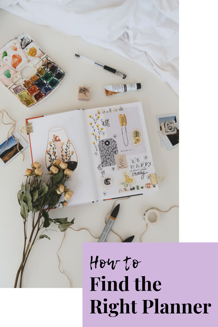 how to find the right planner | planner tips | planner advice | organization tips | how to organize my life | why should I get a planner | s'more happiness