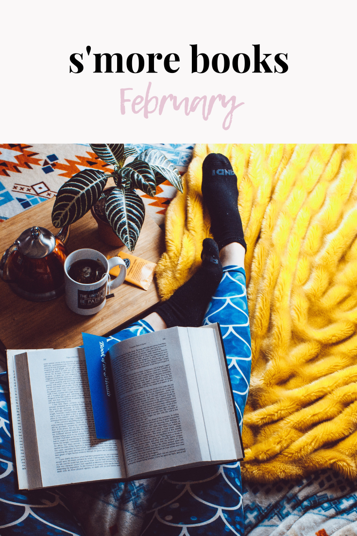 s'more books february | online book club | book pick | book club | book club reading ideas | currently reading | book ideas | what to read next | s'more happiness