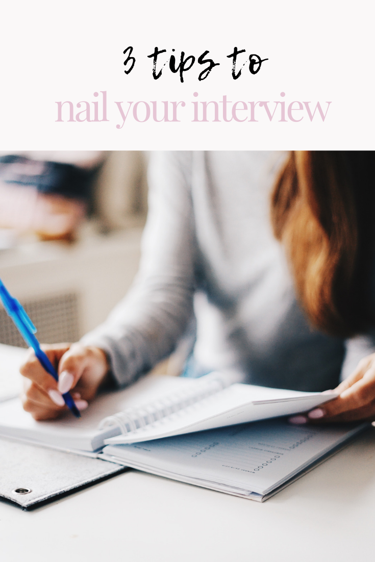 3 tips to nail your interview | 3 tips to nail your job interview | job interview tips | interview tips | s'more happiness