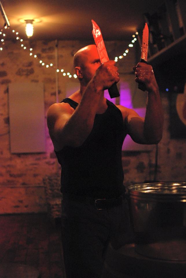Tom Laitinen as Macbeth. Photo by Lonnie Markham.