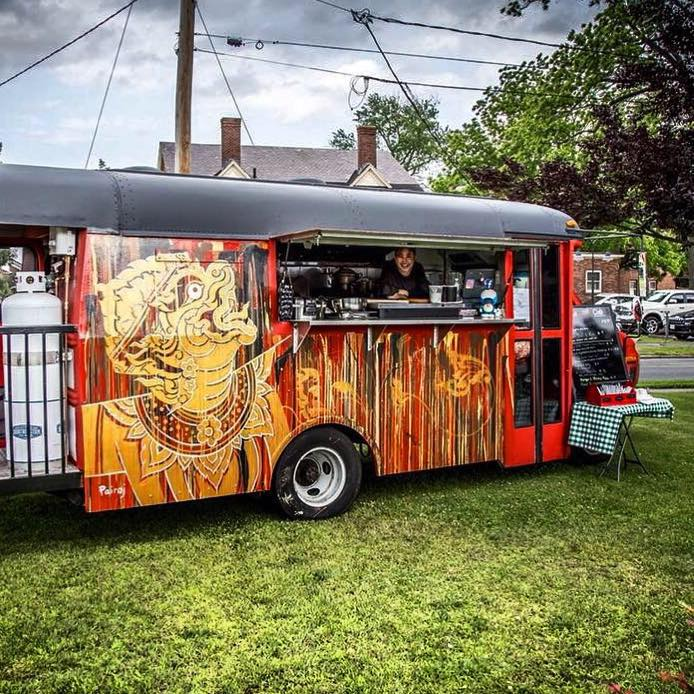 sOMETHING TASTY FROM ONE OF OUR PARTICIPATING FOOD TRUCKS -