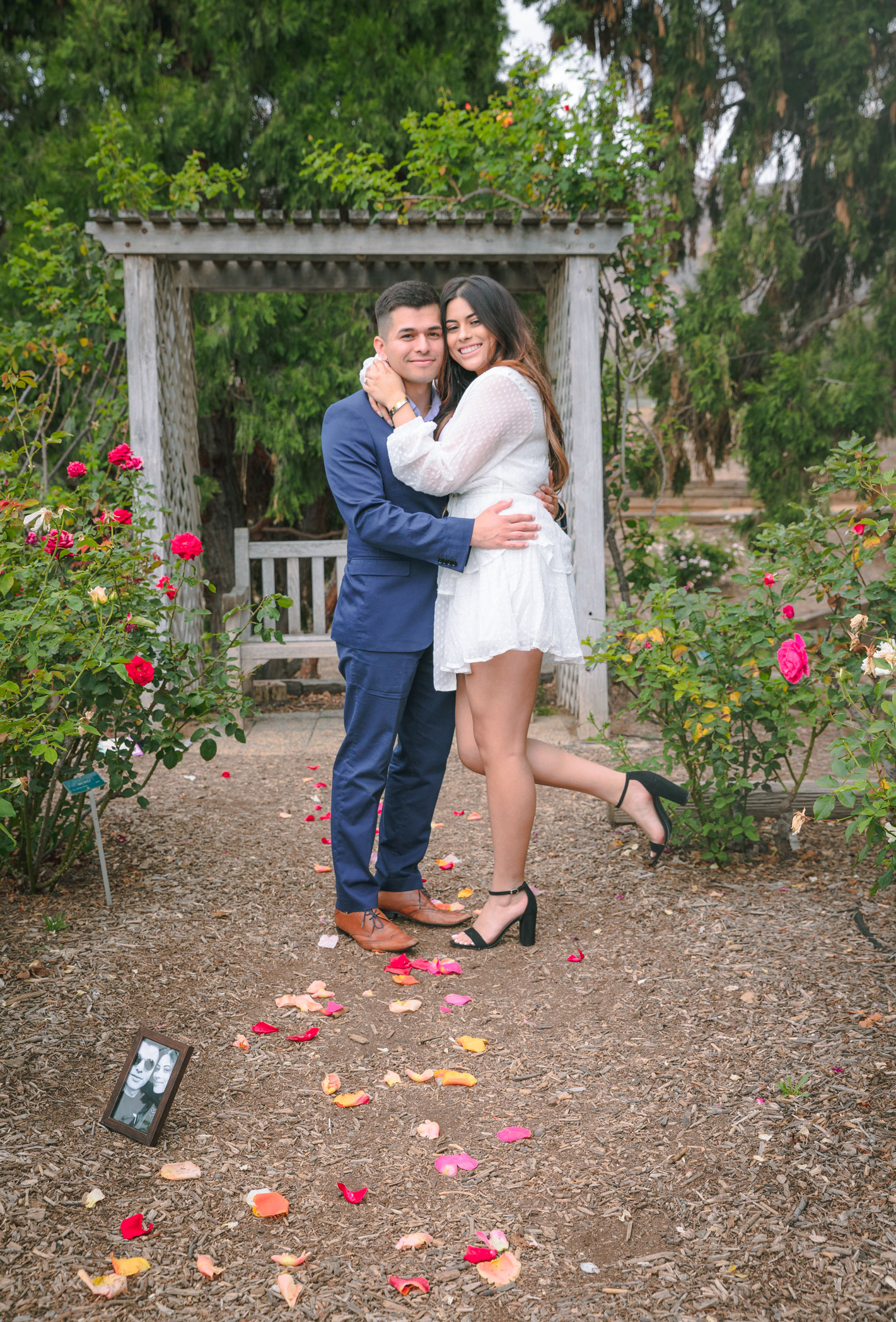 MYAH & MANNY - Proposal in the UCR Gardens