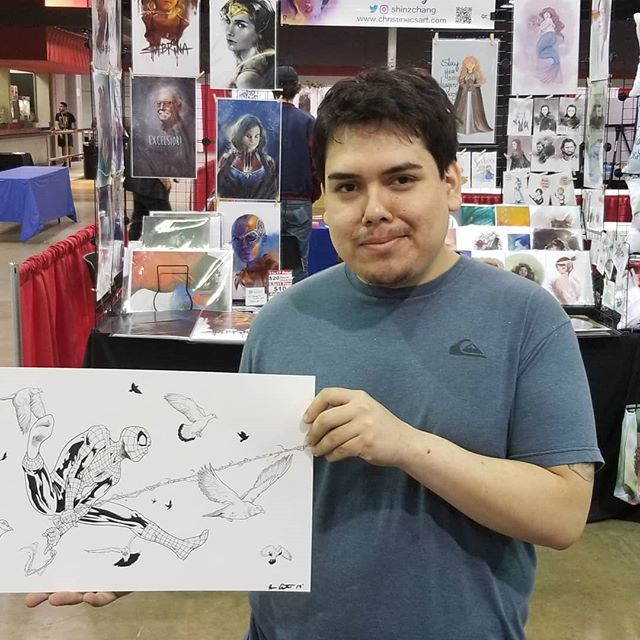Spidey is sold!!! #comicconrevolution #spiderman #marvel #marvelcomics